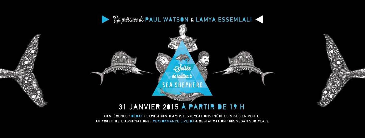 Soutien à Sea Shepherd avec Paul Watson