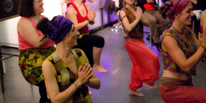 2015 05 - Escal'à Djembé au Delta avec The Eye's Hunters - Danse Africaine