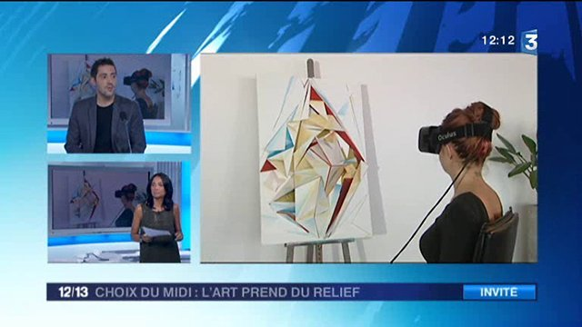 L'art-Project fait la une du JT de France 3 !