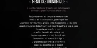 Les Rendez-Vous du Delta #1 - Formule gastronomique